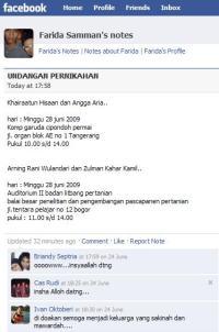 undangan nikah di facebook